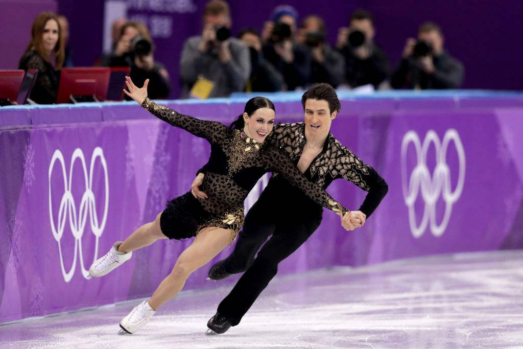 加拿大夫妇Tessa Wertook和Scott Moore