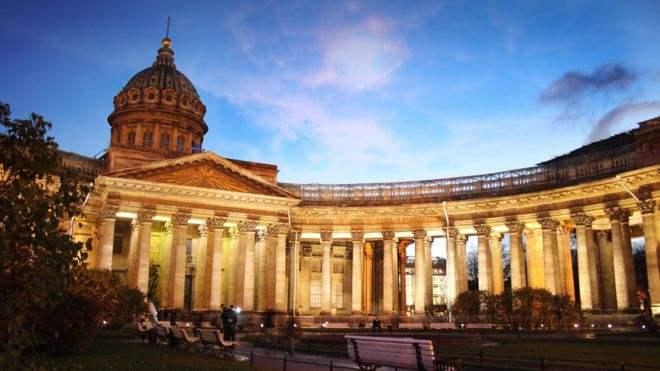圣彼得堡的喀山寺,计划袭击恐怖分子