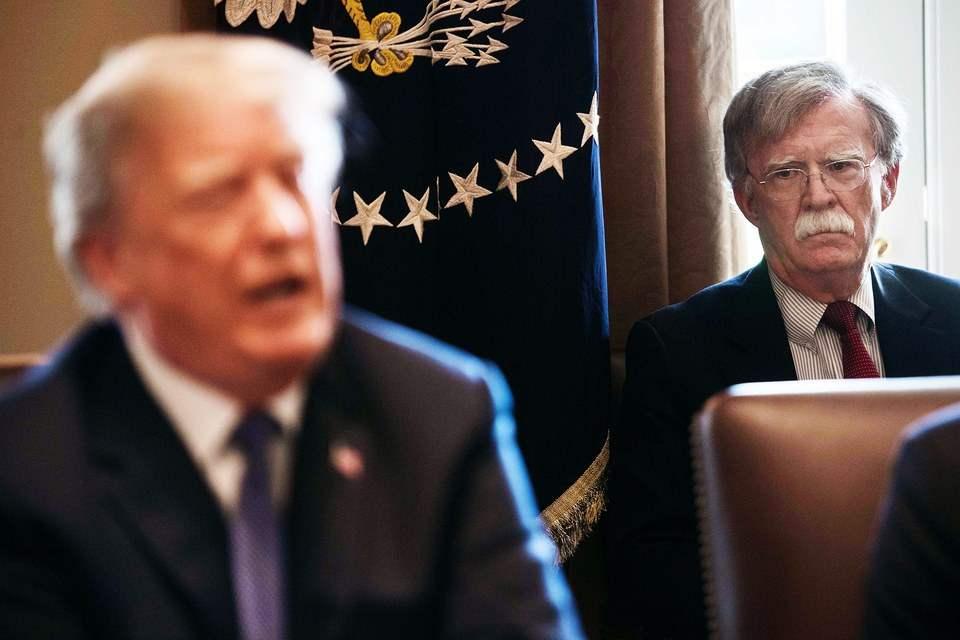 约翰博尔顿是美国总统唐纳德特朗普的幕后黑手