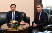The First Mongolian FM visits Czech Republic