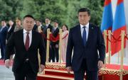 Mongolian President visits Kyrgyzstan