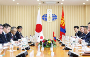 Japanese Foreign Minister visits Mongolia