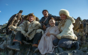 'Eagle Huntress' stars in Mongolian folk band's new video