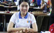 Mongolia's first medalist at Asian Continental Chess Championship