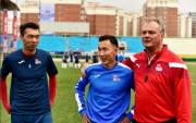 Mongolian midfielder scores first goal of World Cup 2022