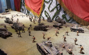 Khalkhin Gol Battle diorama stars at new exhibition