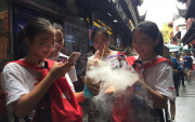 Mongolian students travel to Shanghai