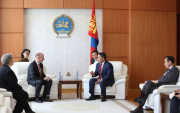 New Germany Ambassador to Mongolia expresses his support to President