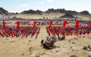 Gobi folk festival attracts 15,000 tourists