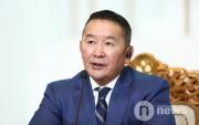 Mongolian President leaves for India