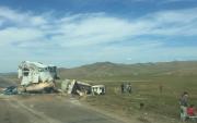 Three cars collide on UB-Tuv highway