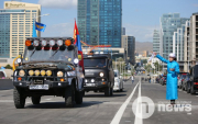 Mongolia's first ever flyover opens in UB
