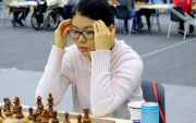 Mongolian grand master teaches chess on TV