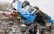 'Brake failure to blame': seven dead in Mongolian road accident