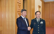 Mongolian Defence Minister visits China