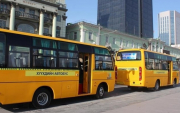 School buses start new service in Ulaanbaatar