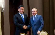 Putin discusses gas pipeline with Mongolian PM