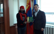 Indian HIV activist cyclist reaches Mongolia