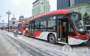 Electric buses start running in Ulaanbaatar