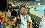 Mongolian photographer shoots one of the best sporting moments