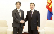 Tokyo's priorities: new ambassador meets Mongolian foreign minister