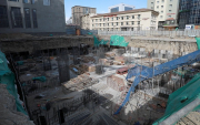 Illegal apartment construction on memorial museum site