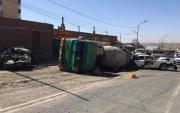 11 injured in massive pile-up in Ulaanbaatar