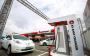 Mongolia's first electric vehicle charging station installed