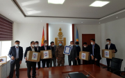 Mongolian Boxing Federation fights COVID-19