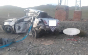 Six people including two children die in car crash