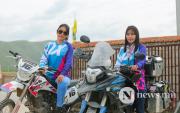 Mongolian biking mothers complete epic road-trip