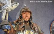 Wax figures of Khaans of Mongol Empire displayed