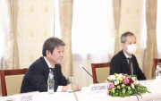 Japanese Foreign Minister meets Mongolian PM