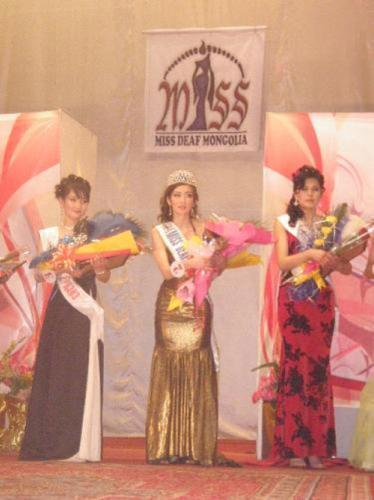 Mongolian woman competing to be Miss Deaf International