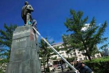 В И Лениний хөшөөг маргааш буулгана   News MN