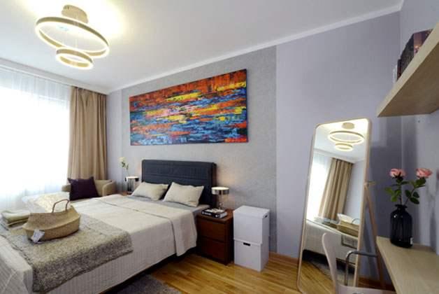 54мкв 2 өрөө орон сууцны унтлагын өрөө