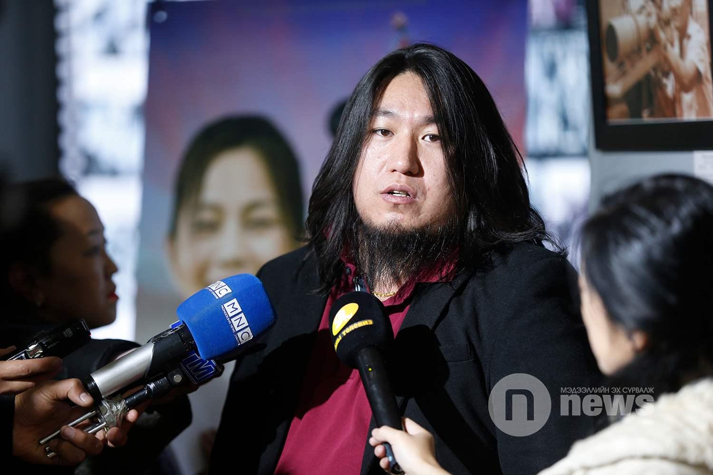 """""""Чингисийн хүүхдүүд"""" уран сайхны киноны ерөнхий зураглаач Д.Ангараг"""