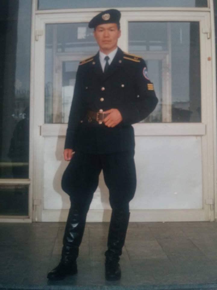 Цагдаагийн ахмад Б.Ариунболд агсан