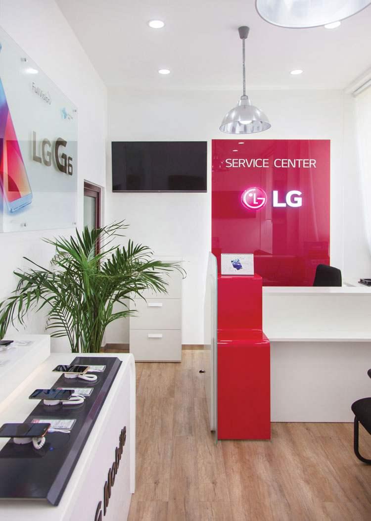 """""""LG"""" электрониксийн засварын төв."""