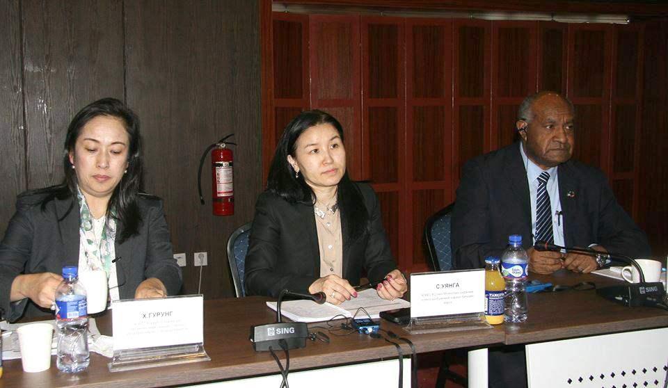 ЮНЕСКО-ийн Монголын үндэсний комиссын ерөнхий нарийн бичгийн дарга С.Уянга