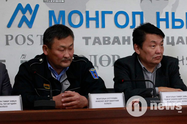 Монголын зүтгүүрийн инженер, мэргэжилтний холбооны тэргүүн П.Энхмөнх
