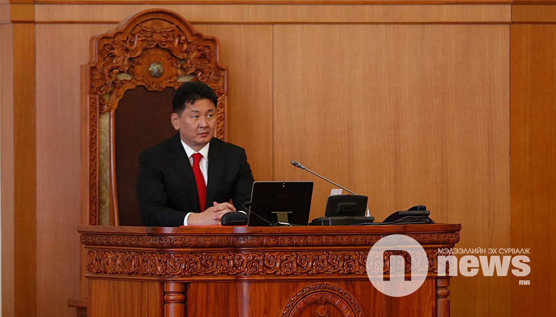 У.Хүрэлсүх Монгол Улсын 30 дахь Ерөнхий сайд боллоо