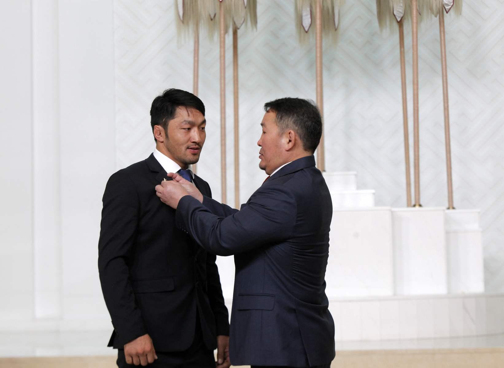 Монгол Улсын гавьяат тамирчин Г.Одбаяр