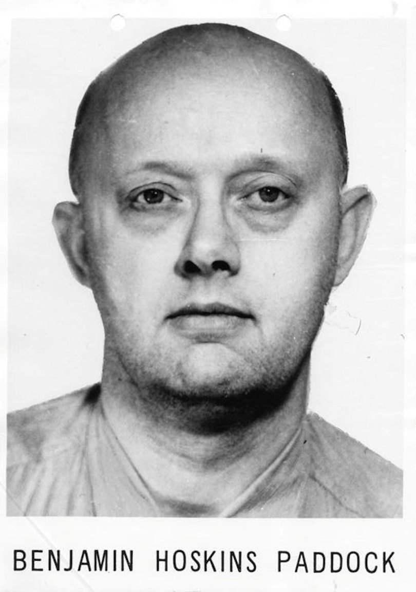 АНУ-ын Невада мужийн Лас Вегас хотод 59 хүний амийг буудаж хороосон гэмт этгээдийн эцэг Бенжамин Хоскинс Пэддок