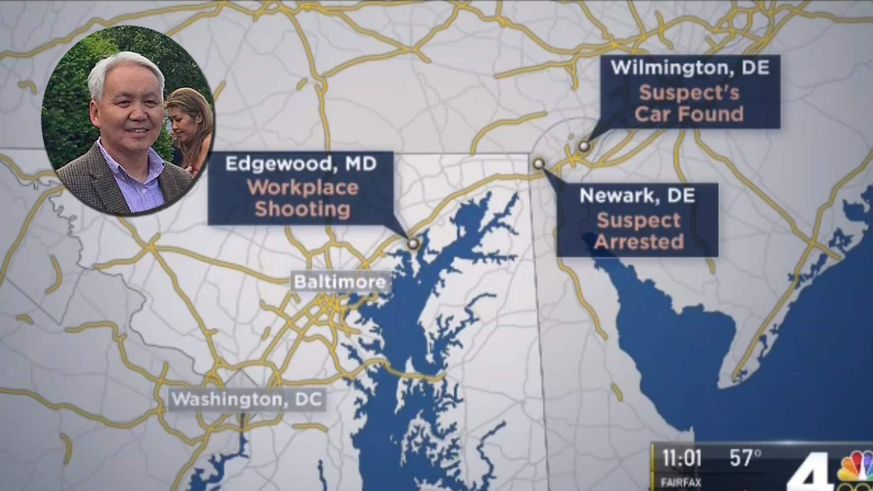 Хэрэг гарсан болон гэмт этгээдийн машин олдсон, гэмт этгээдийг баривчилсан газрын байршил.