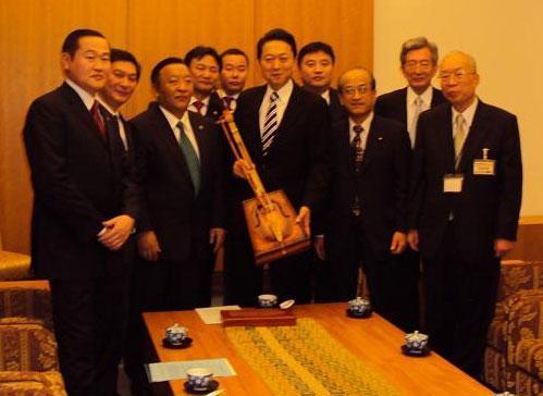 УИХ-ын гишүүдийг Японы Ерөнхий сайд Ю.Хатояма хүлээн авч уулзлаа