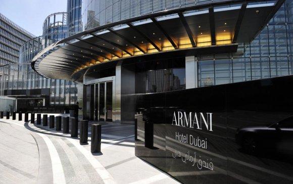 """Хамгийн өндөр цамхагт """"Armani Hotel"""" нээгдлээ"""