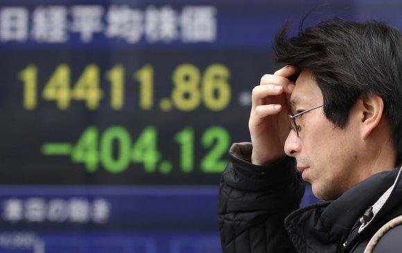 Япон санхүүгийн хямралд өртөж болзошгүй байна