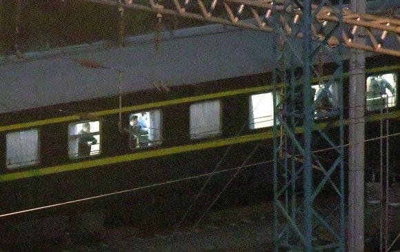 Кимийн хуягт галт тэрэг Хятадад харагдав