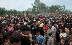 Киргизстан дахь хүчирхийллийн талаар ярьж байна